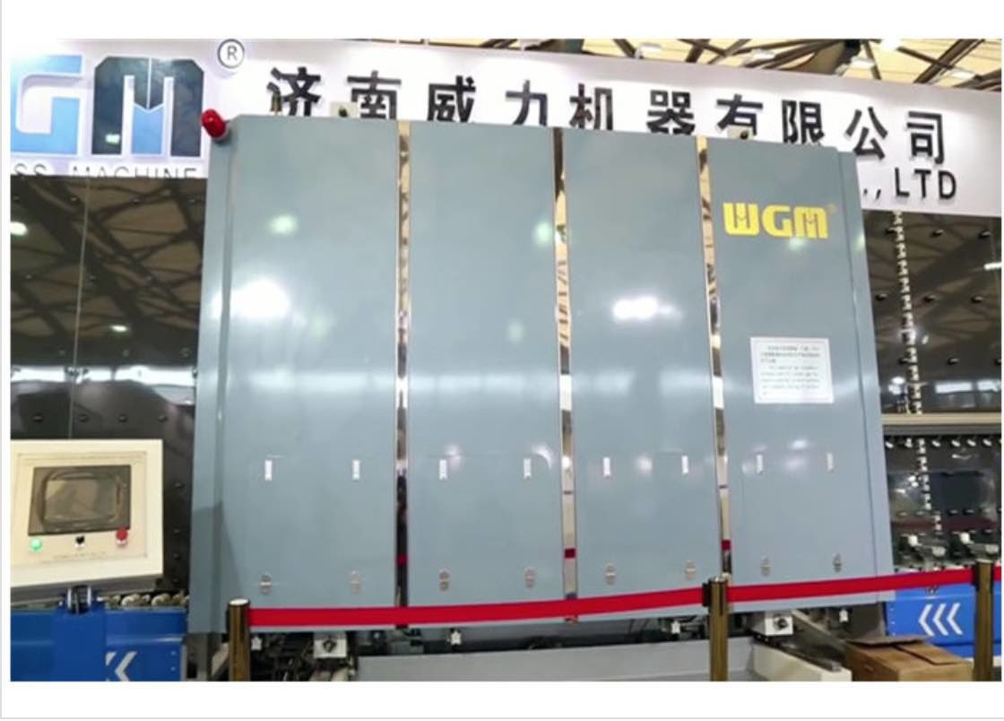 Vertical Insulating Glass Machine , Argon Gas Filling Machine With High Efficiency